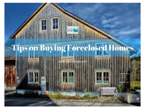 Tips on Buying Foreclosed Homes