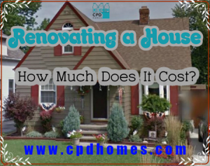 How Much Does It Cost to Renovate a House