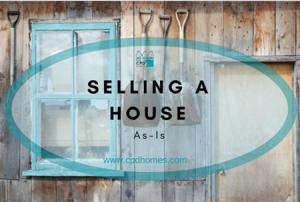 Selling a house as is
