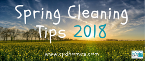 Spring Cleaning Tips 2018