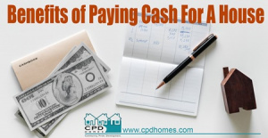 Payng Cash for A House