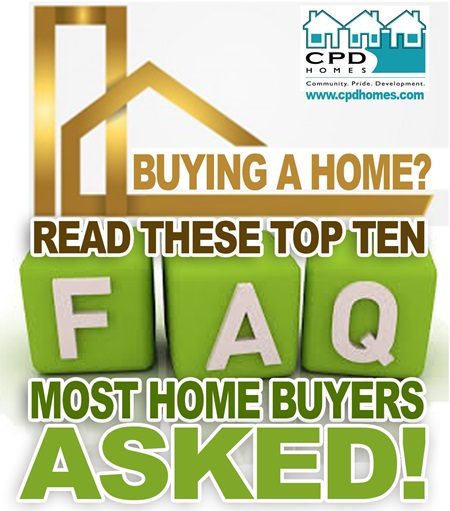 questions most home buyers asked