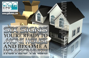 six signs to buy a house and be a homeowner