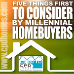 Five Things millennial homebuyers should consider