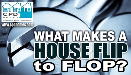 house flipping a flop