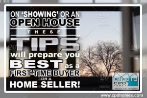 Tips to Prepare on Showing or Open House
