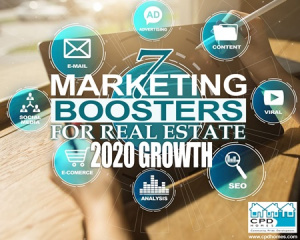 boosters to real estate marketing