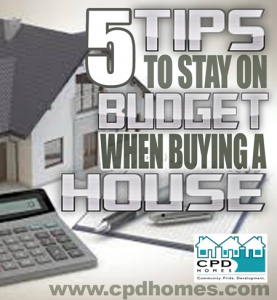 Staying on budget when buying home