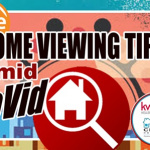 CoVid safety tips on home viewing