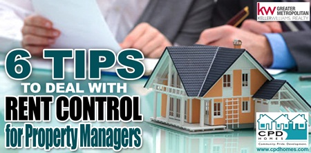 6 Tips On Dealing With Rent Control  for Property Managers