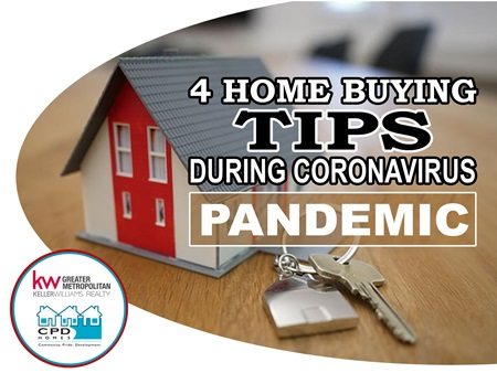4 Home Buying Tips During Coronavirus Pandemic