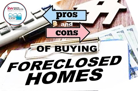 PROs and CONs of BUYING FORECLOSED HOMES