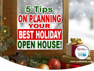 planning the best holiday open house