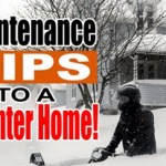 home maintenance during the winter season