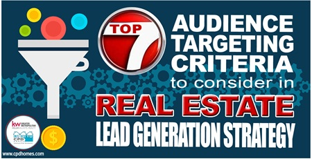Top 7 Audience Targeting Criteria To Consider In Real Estate Lead Generation Strategy