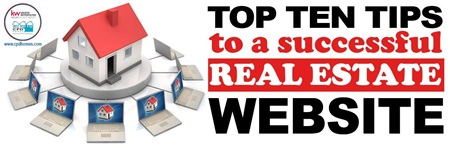 Top Ten Tips To a Successful Real Estate Website