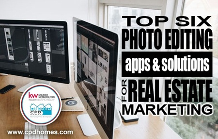 Top 6 Photo Editing Apps & Solutions for Real Estate Marketing