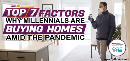 Top 7 Factors Why Millennials Are Buying Homes Amid The Pandemic