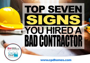 signs of a bad contractor