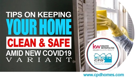 Keeping Your Home Clean and Safe Amid New Covid19 Variant