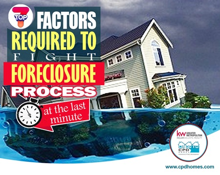 Top 7 Factors Required To Fight Foreclosure Process – At The Last Minute!