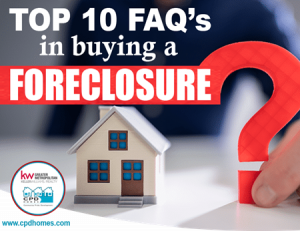 FAQ's in buying foreclosed home