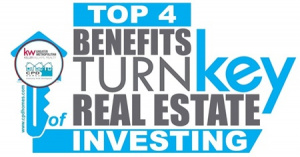 Top 4 Benefits of Turnkey Real Estate Investing
